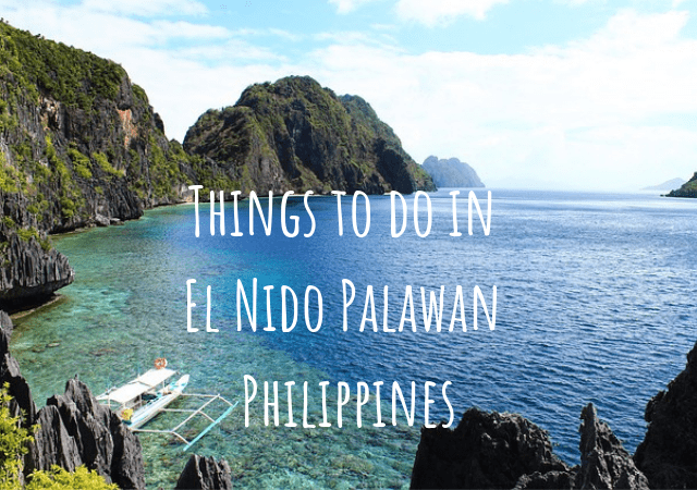 Things to do in El Nido Palawan Philippines