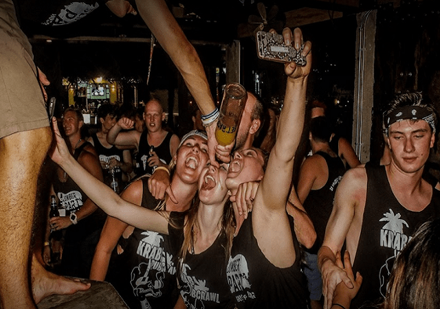 Party all night at Krabi Pub Crawl