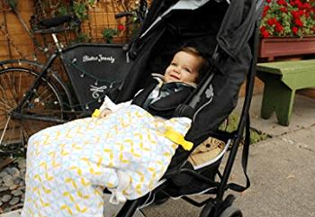 Luxury Organic Stroller Blanket