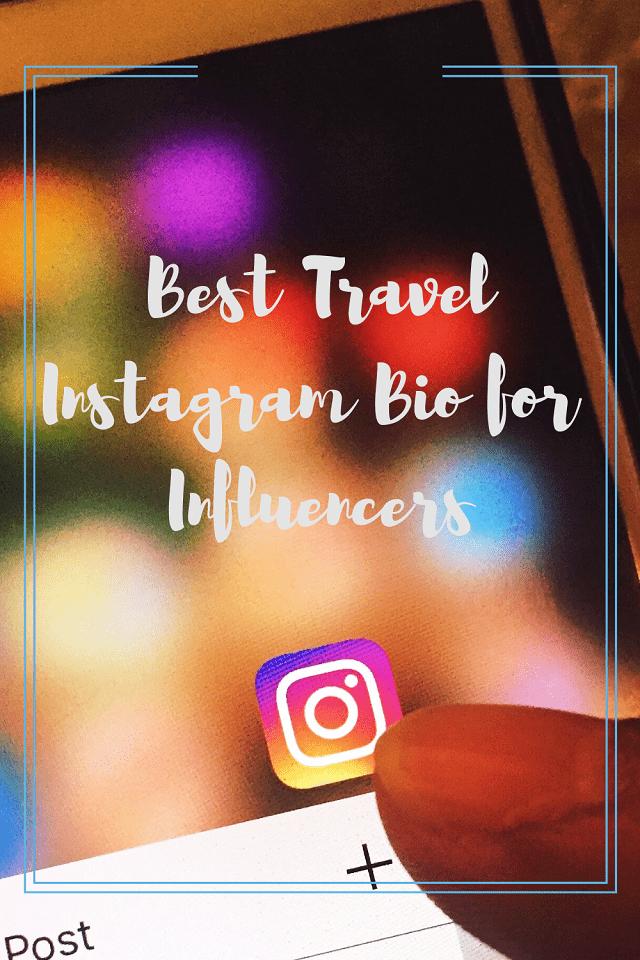 travel instagram bio