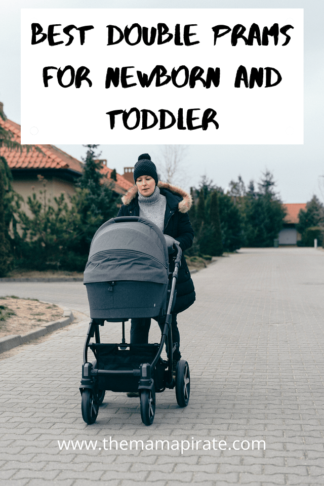 double prams for newborn and toddler